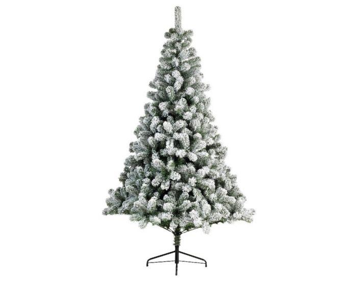 Snowy Imperial Hinged Pine Tree