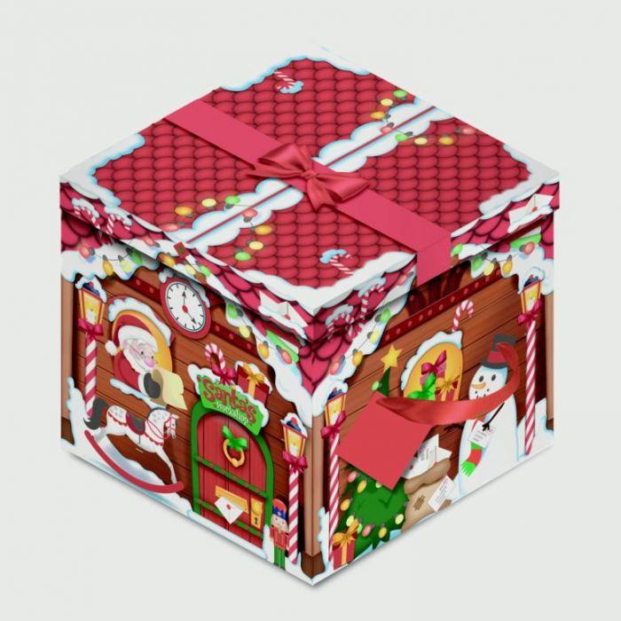 Square Flat Box