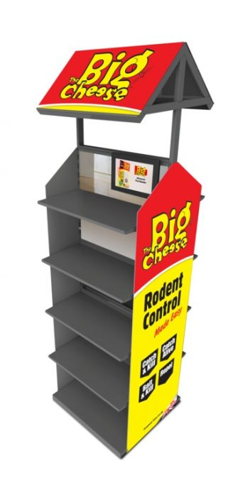 Stv Big Cheese Double Sided Display
