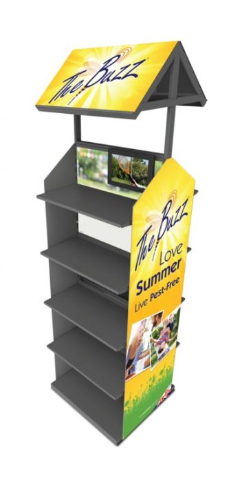 Stv Double Sided Display Buzz