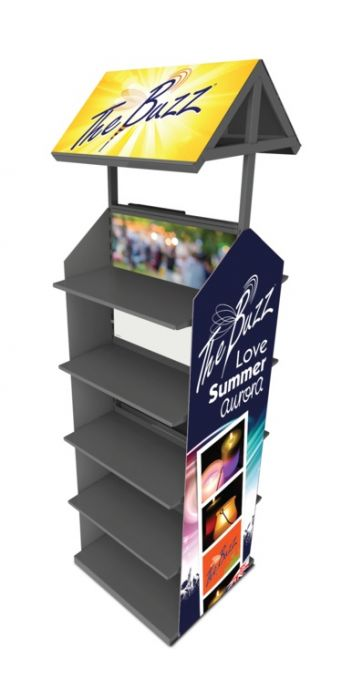 Stv Double Sided Display Citronella
