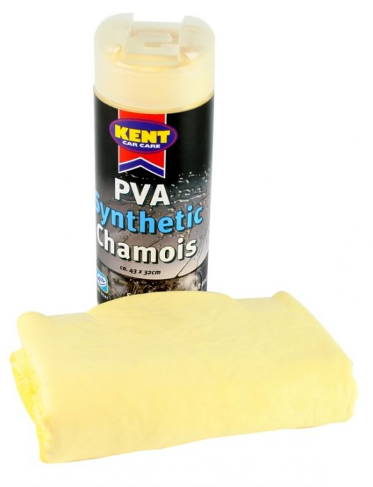 Kent Car Care Pva Synthetic Chamois In Canister