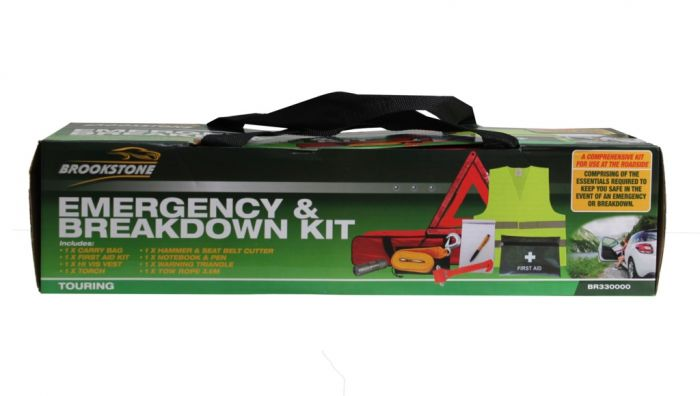 Brookstone Emergency & Breakdown Kit