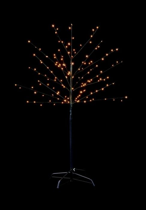 200 Led Black Birch Tree
