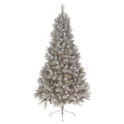Silver Tip Pvc Fir Tree