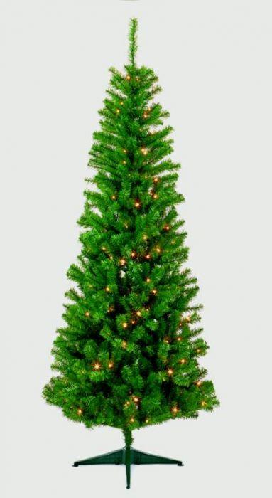 Pre-Lit Breckenridge Pine Tree