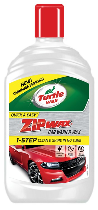 Turtle Wax Zip Wax Wash N Wax 500Ml