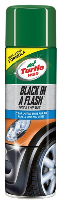 Turtle Wax Black N Flash 500Ml Aerosol