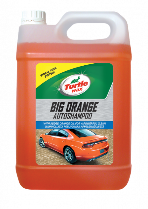 Turtle Wax Big Orange Car Shampoo 5L