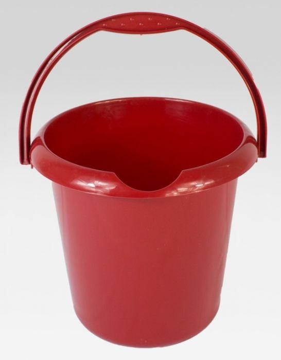 Tml 5L Bucket Glitter Red