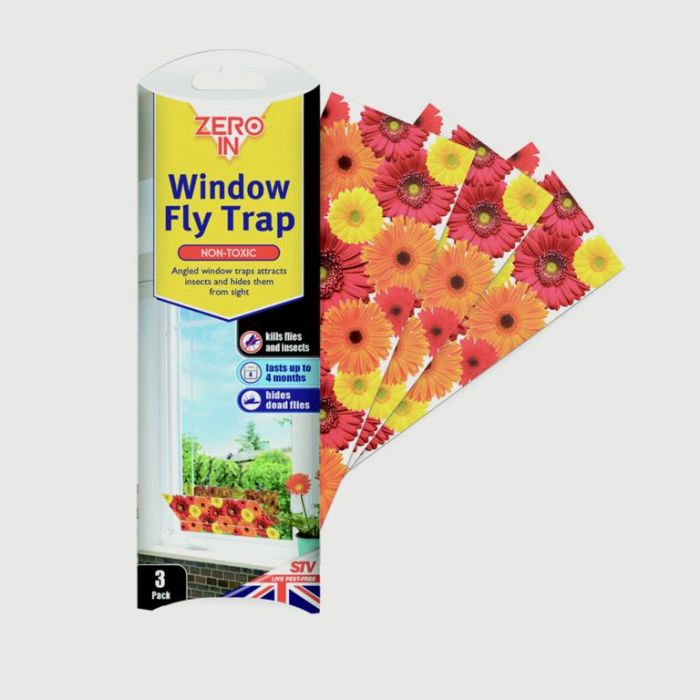 The Buzz Window Fly Traps 3 Pack