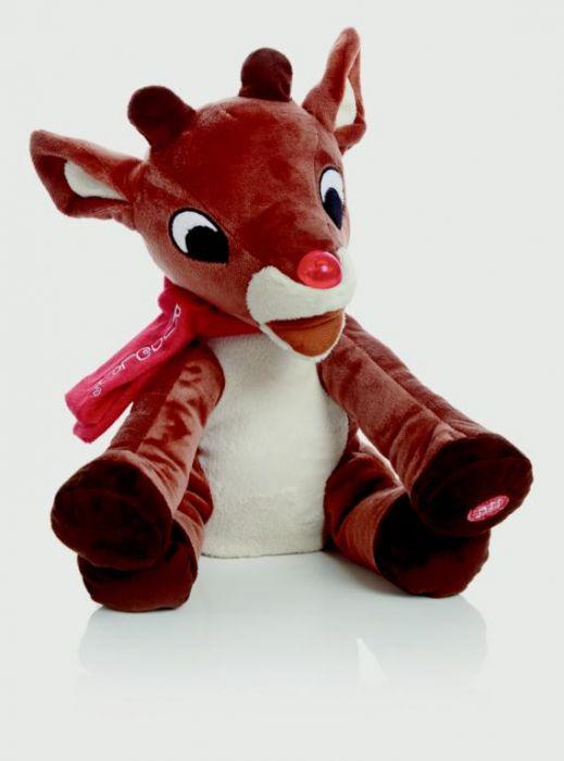 Lit Musical Reindeer