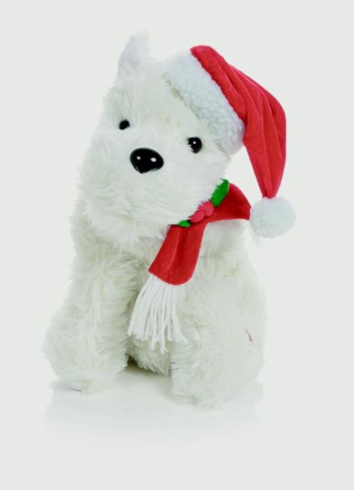 Animated White Terrier