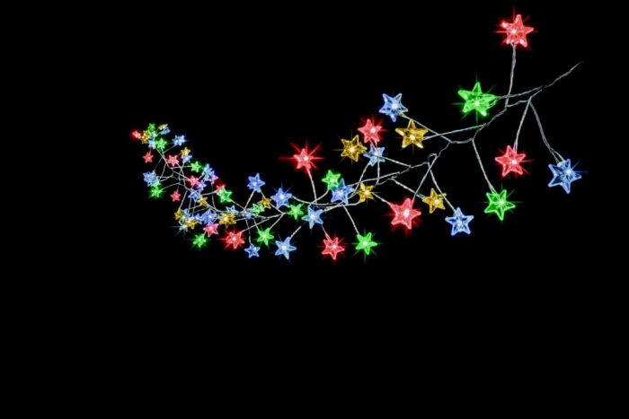 160 Multi Action Microbright Star Cluster Leds