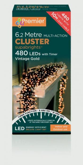 Multi Action Supabrights Cluster Lights