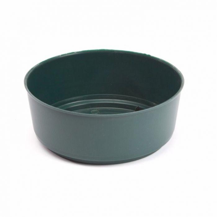 Oasis Green Bulb Bowl 21 X 9Cm
