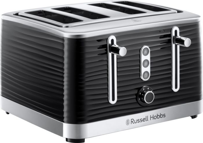 Russell Hobbs 4 Slice Inspire Toaster Black
