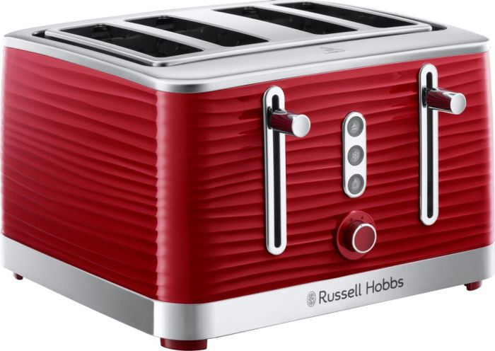Russell Hobbs 4 Slice Inspire Toaster Red