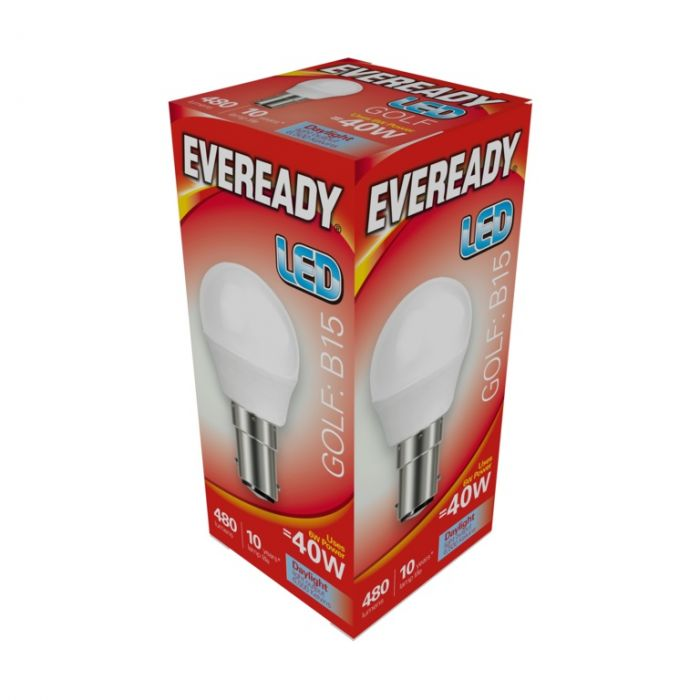 Eveready Led Golf 6W 480Lm Daylight 6500K B15