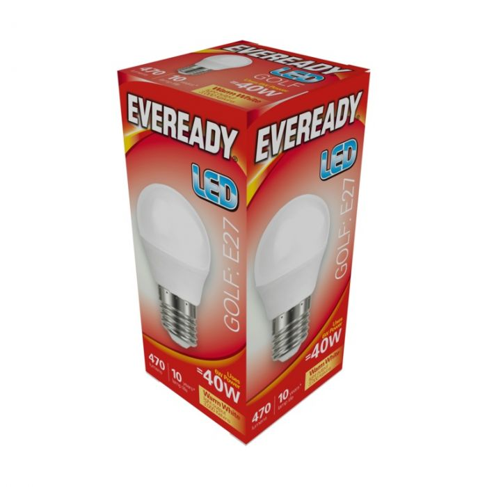 Eveready Led Golf 6W 470Lm Warm White 3000K E27