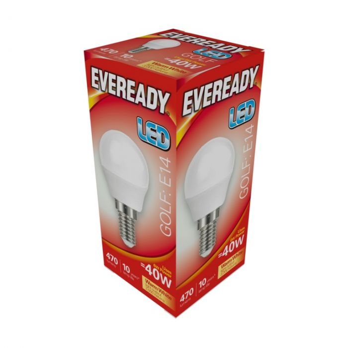 Eveready Led Golf 6W 470Lm Warm White 3000K E14