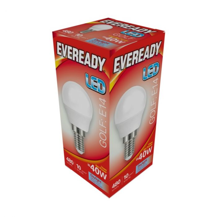 Eveready Led Golf 6W 480Lm Daylight 6500K E14