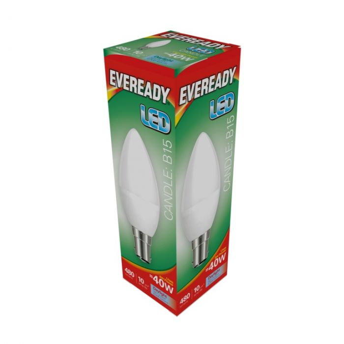Eveready Led Candle 6W 480Lm Daylight 6500K B15