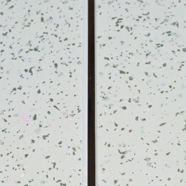 Giavani Bathrooms Ceiling Panel 2700 X 250 X 9.5Mm White Sparkle & Chrome Pack 5