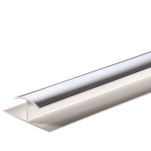 Giavani H Joint Trim 10Mm X 2.7M Chrome