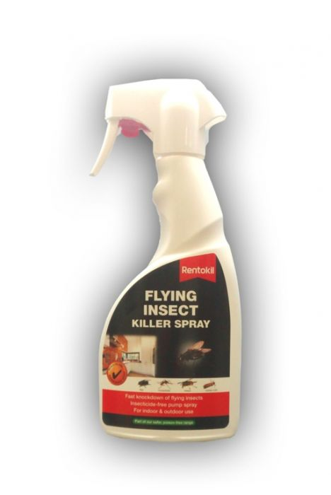 Rentokil Flying Insect Killer Spray 500Ml