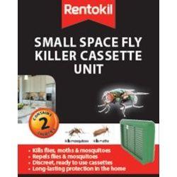 Rentokil Small Space Fly Killer Cassette Unit Twin Pack