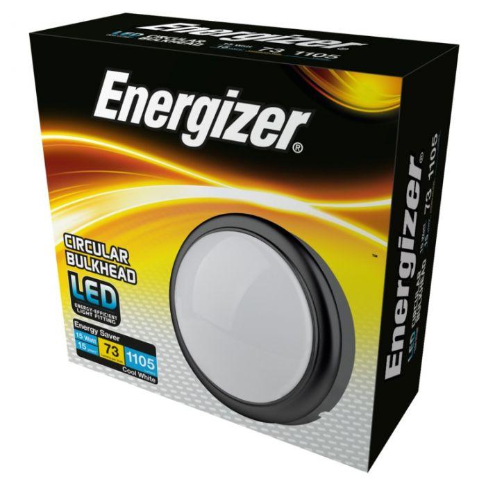 Energizer Led Round Bulkhead Ip54 15W 4000K