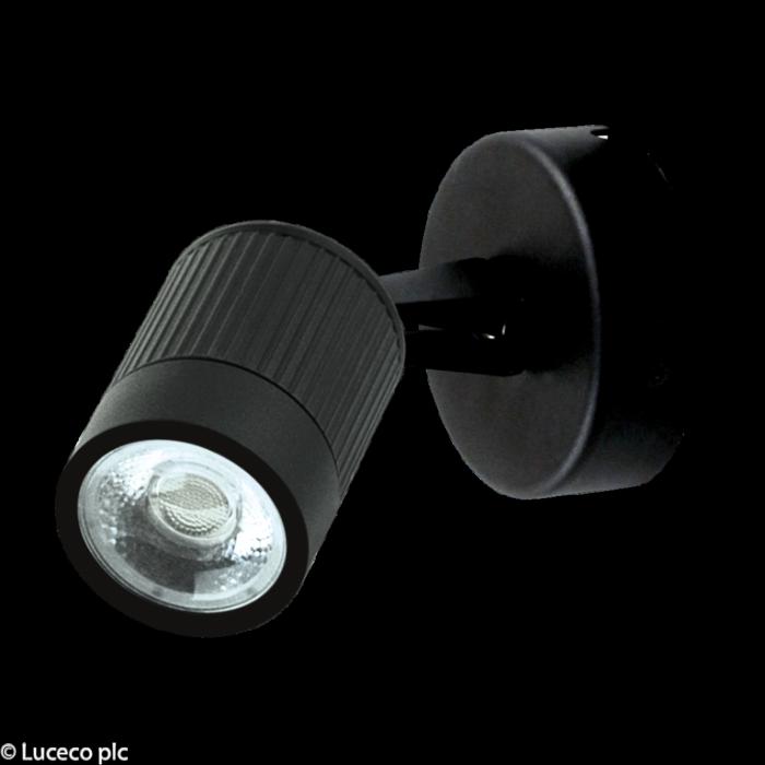 Luceco Integrated Adjustable Wall Light 5W 360 Lumens Ip44