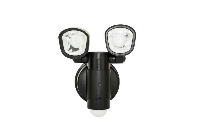 Luceco Solar Twin Security Light 4W 400 Lumen