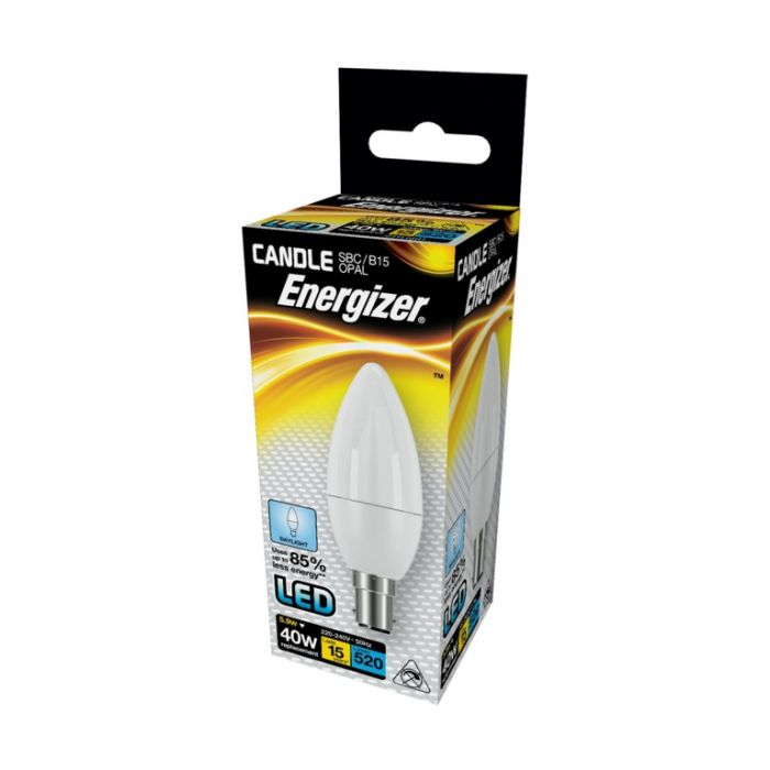 Energizer Led Candle 520Lm Opal B15 Daylight 6500K