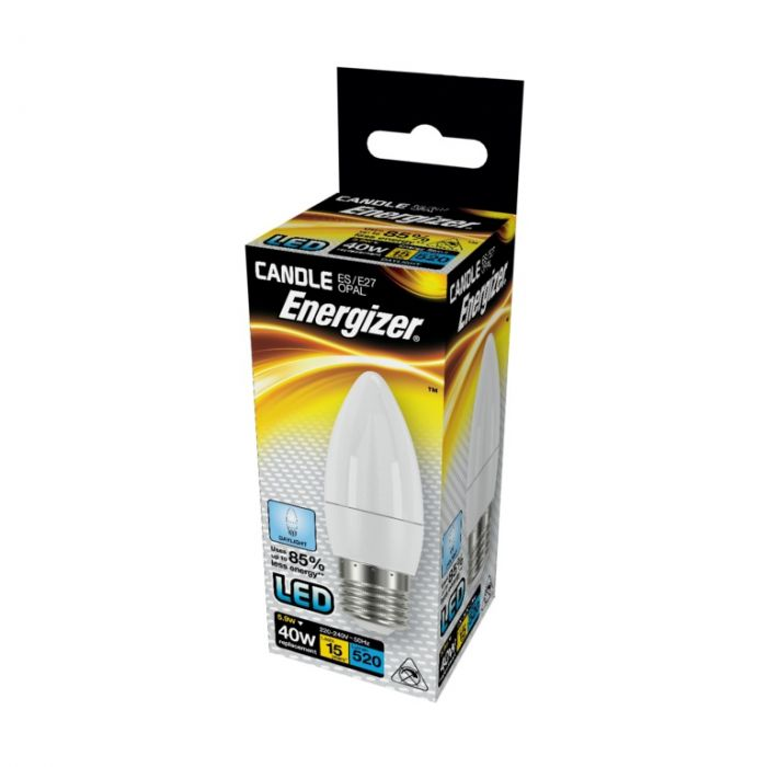 Energizer Led Candle 520Lm Opal E27 Daylight 6500K