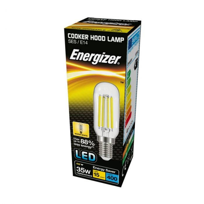 Energizer Filament Led Cooker Hood E14 4W 3000K