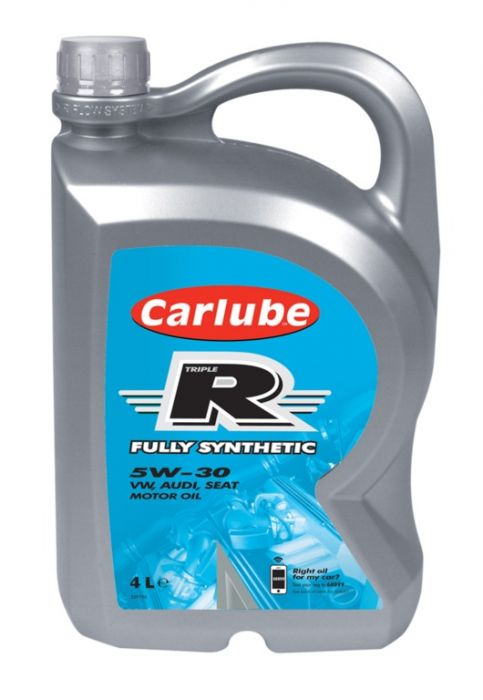 Carlube Triple R 5W-30 Fully Synthetic Vw 4L