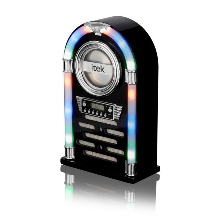 Itek Bluetooth Jukebox With Cd Player