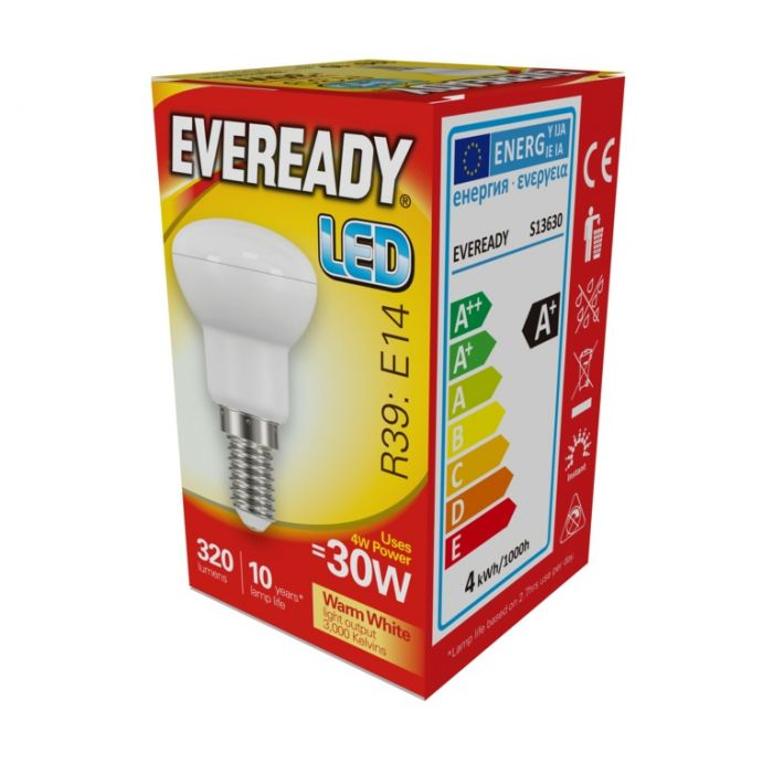 Eveready Led R39 4W 320Lm Warm White 3000K E14