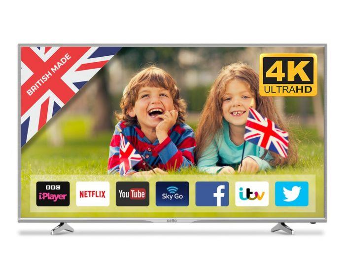 Cello Ultra Hd 4K Smart Tv 65