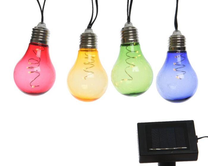 Lumineo Micro Led Solar Bulb Light 450Cm Warm White