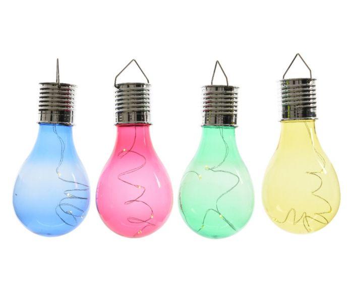 Lumineo Outdoor Led Solar Bulb 14Cm Warm White