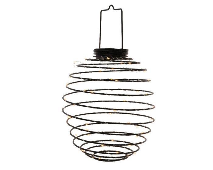 Lumineo Led Solar Metal Wire Warm White 45 Lightl 22Cm
