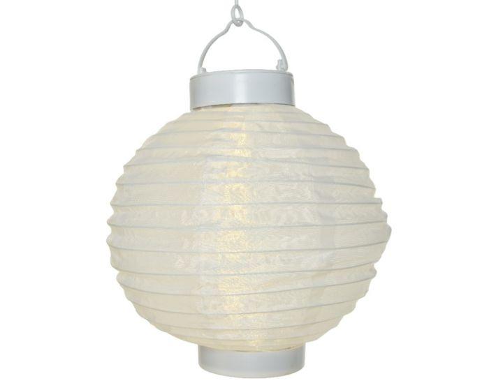 Lumineo Led Solar Round Lantern Warm White 20Cm