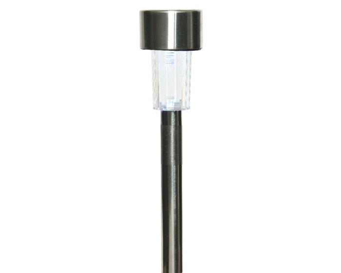 Lumineo Led Solar Stainless Steel Light - 1 Light 24Cm - Cool White