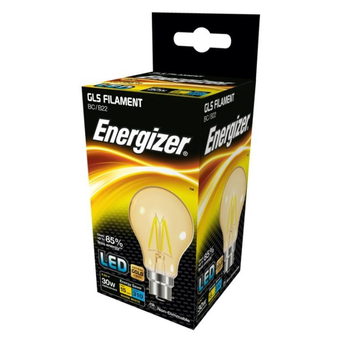Energizer Filament Led Lamps B22 310Lm 4.2W