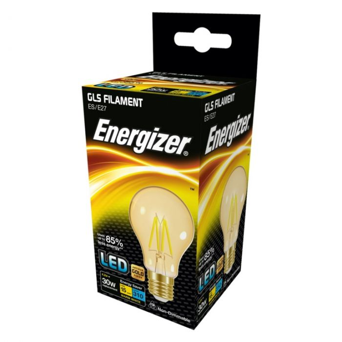 Energizer Filament Led Lamps E27 310Lm 4.2W