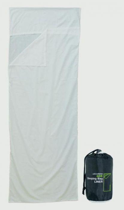 Yellowstone Sleeping Bag Liner White