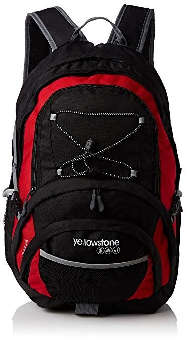 Yellowstone Orbit Rucksack Red/Black 30L